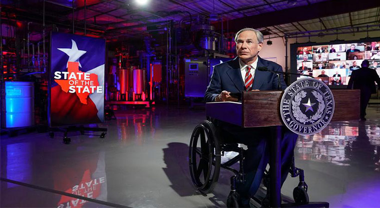 Do You Approve Of The Job Governor Greg Abbott Is Doing?