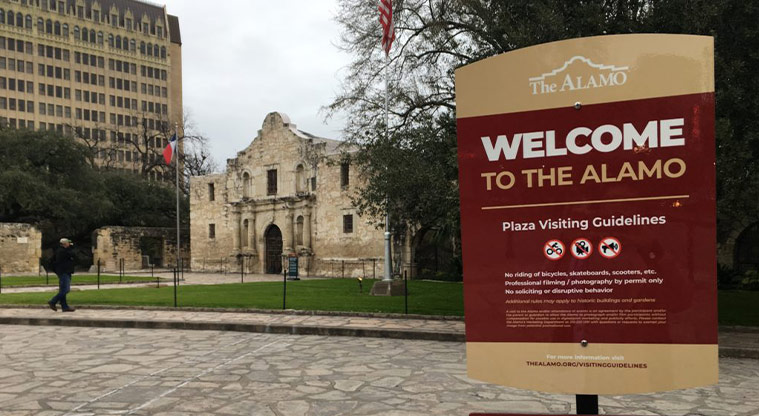 Do you agree Alamo Plaza needs fences or a gate to separate the Plaza from the public spaces around it?