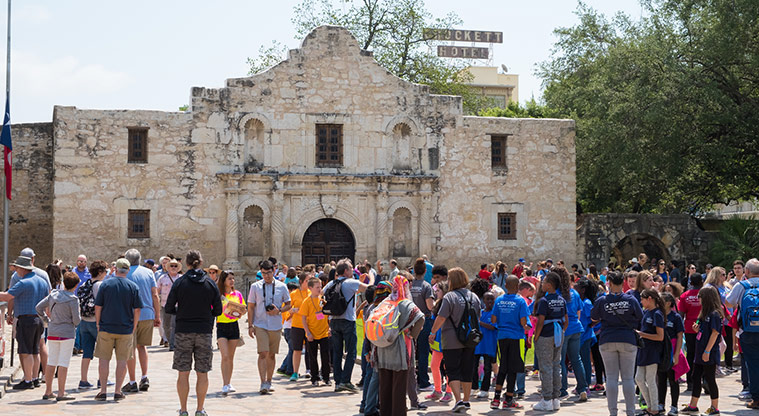 Do you agree Alamo Plaza should be available to rent for private events in order to raise money to support the site?