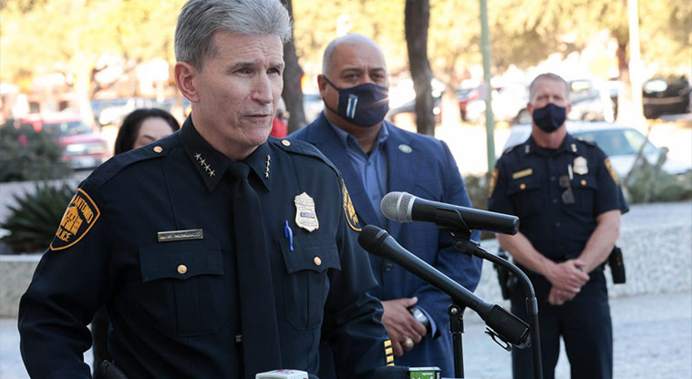 Do you agree San Antonio Police's internal investigation process for investigating and disciplining officers for misconduct is impartial and just?