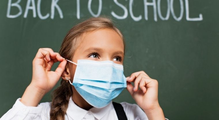 """Do you agree with the statement """"Local schools should continue to enforce face mask policies for students, teachers, and staff when inside the classroom""""?"""