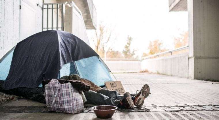 Do you support or oppose implementing a statewide ban on homeless camping on public property?