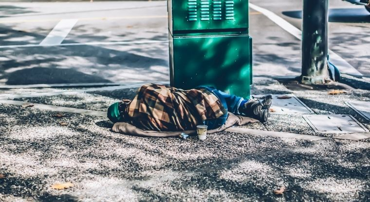 Do you think 'some people are just one bad break away' is a major reason that people in Bexar County are homeless